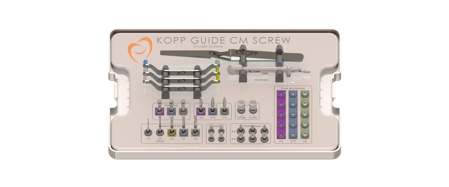Kopp Guide CM Screw Kit
