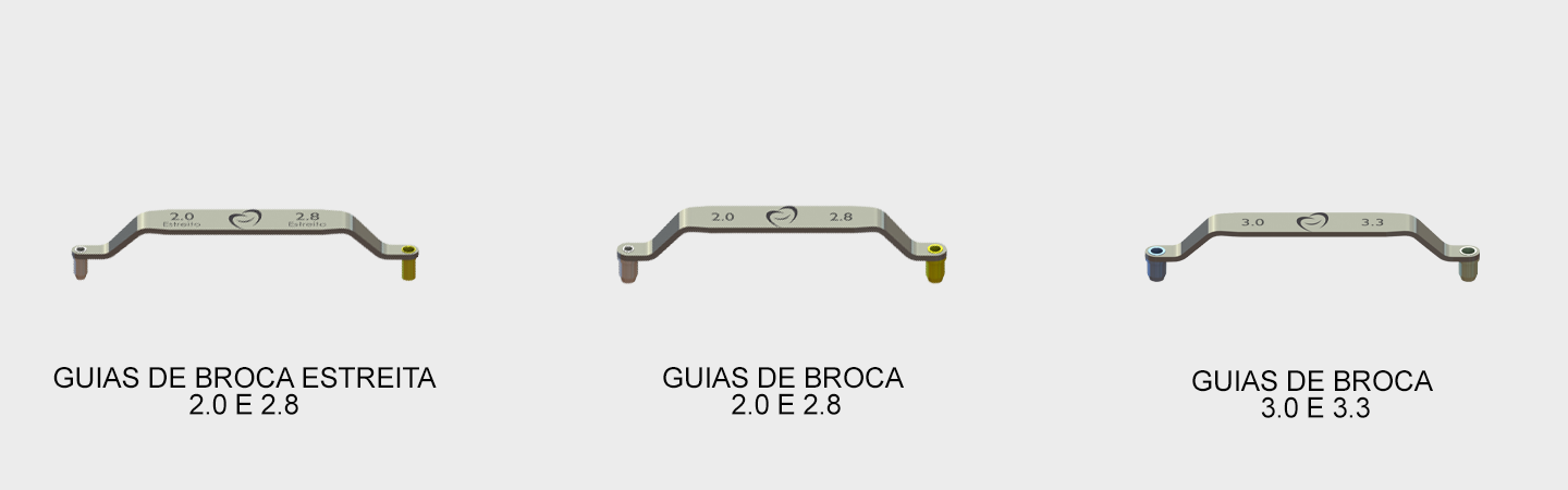 Guias de Broca Guide CM Screw